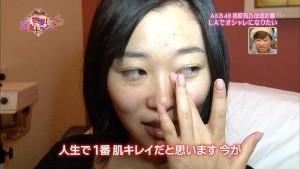 AKB48 指原莉乃 すっぴん